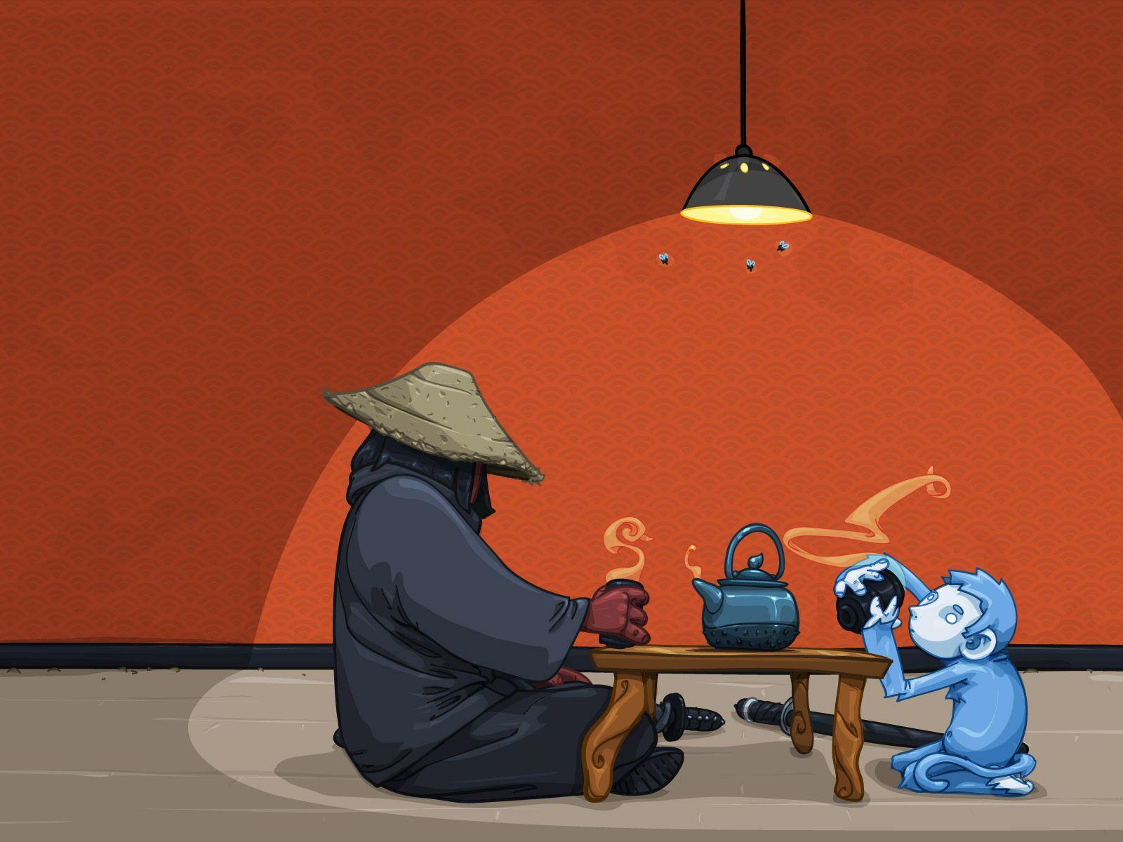 136913 скачать обои Арт, Чаепитие, Люди, Стол, Китай - заставки и картинки бесплатно