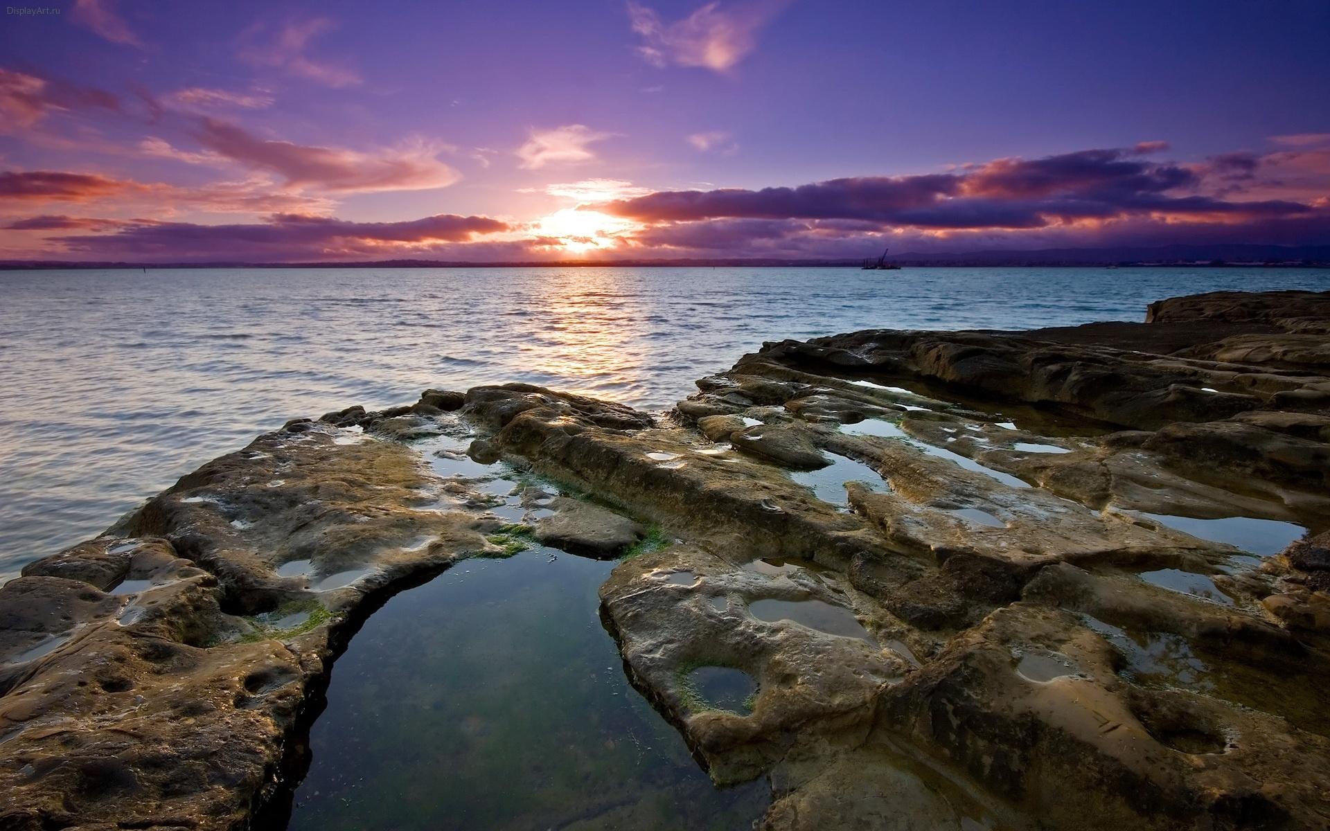 9111 скачать обои Пейзаж, Небо, Море, Солнце - заставки и картинки бесплатно