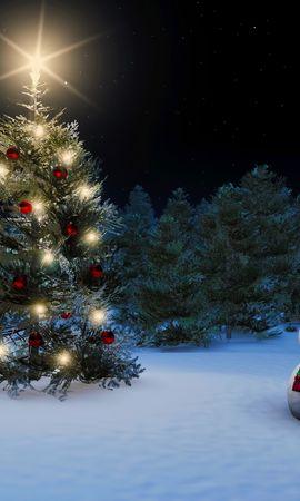 33223 скачать обои Праздники, Фон, Новый Год (New Year), Снеговики - заставки и картинки бесплатно