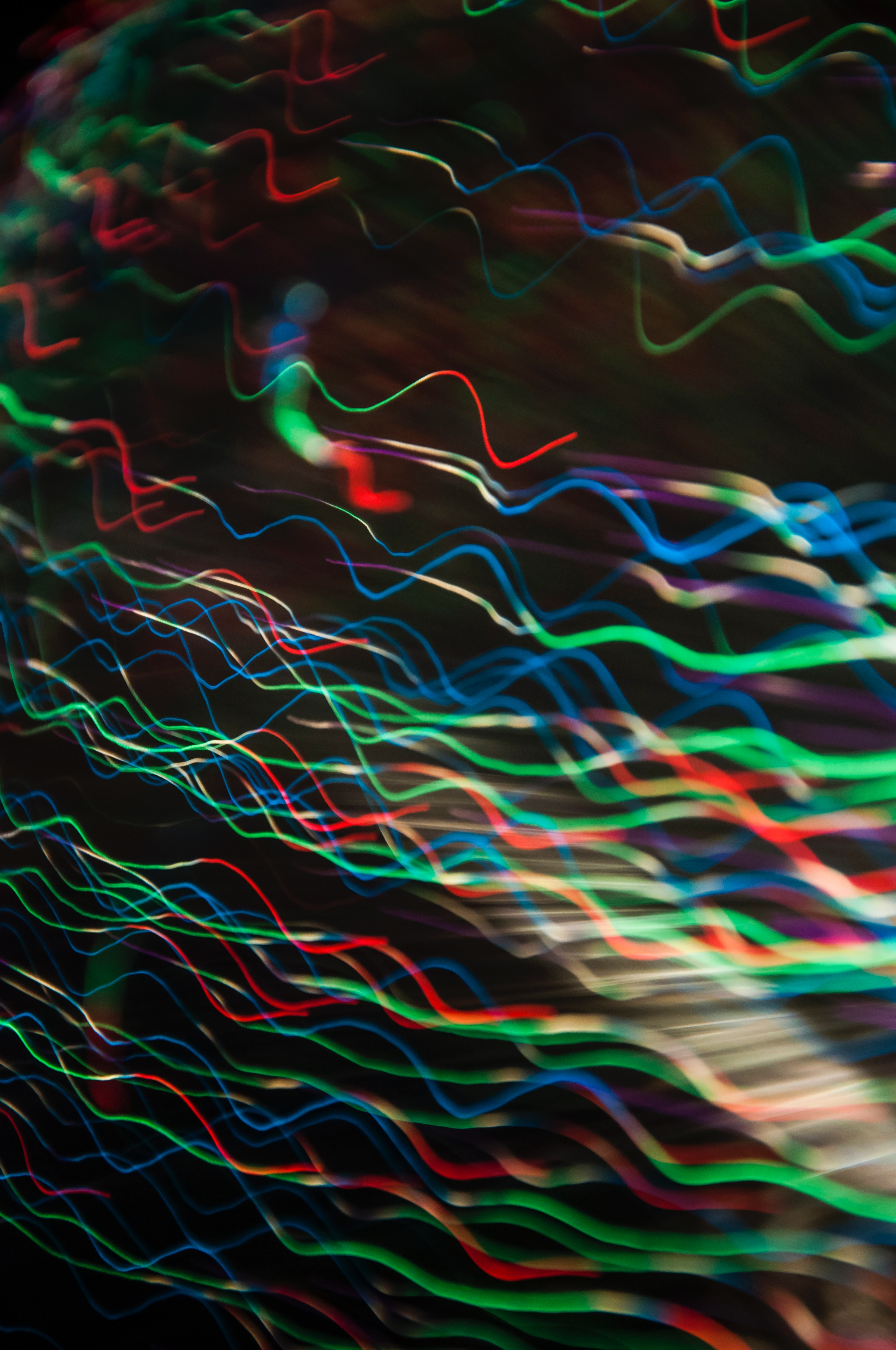 117324 download wallpaper Abstract, Lines, Wavy, Multicolored, Motley, Glow screensavers and pictures for free