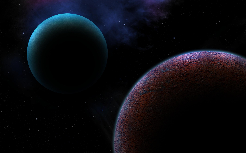 79062 Hintergrundbild herunterladen Planets, Universum, Platz, Raum, Science-Fiction, Sci-Fi - Bildschirmschoner und Bilder kostenlos