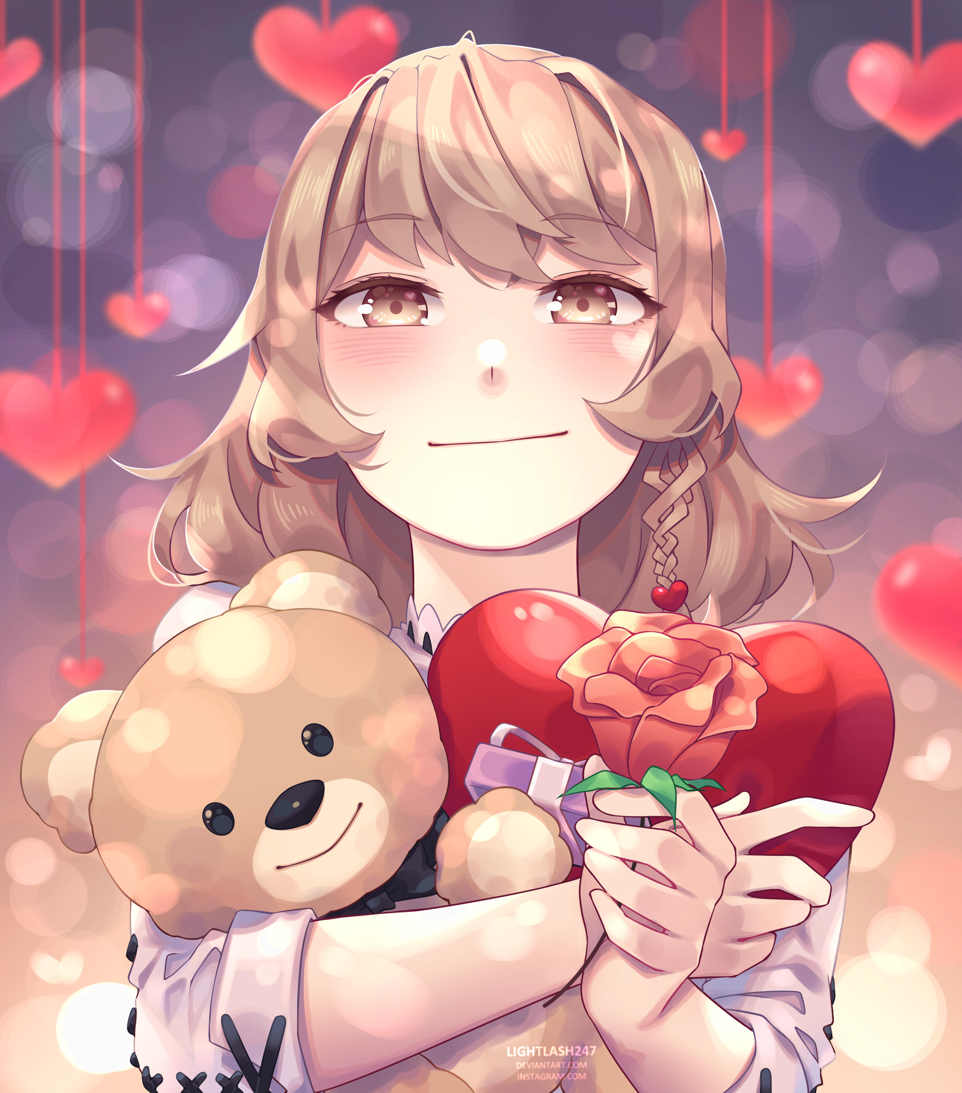 93528 Screensavers and Wallpapers Nice for phone. Download Anime, Flower, Girl, Nice, Sweetheart pictures for free