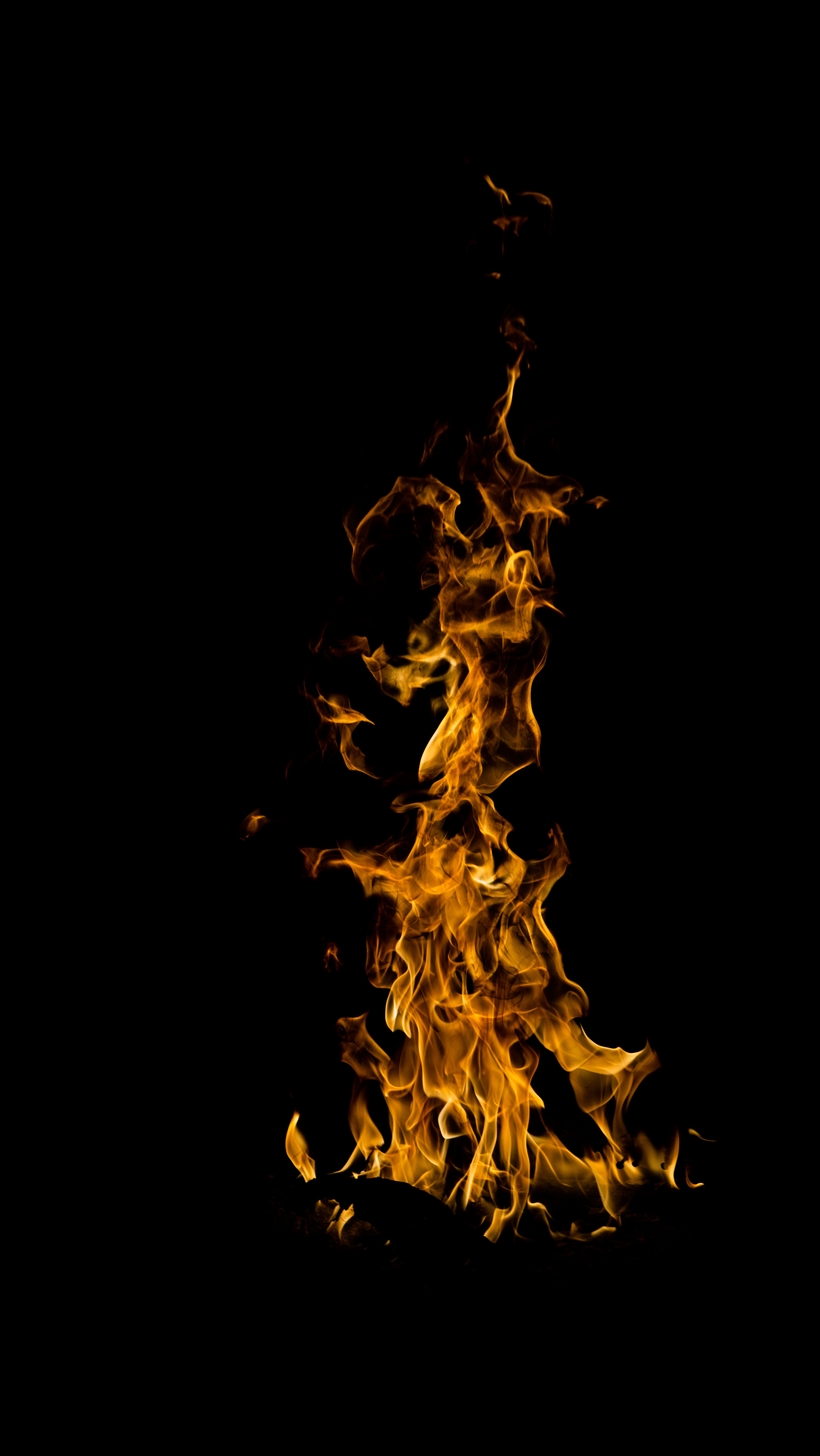 126220 Screensavers and Wallpapers Bonfire for phone. Download Fire, Bonfire, Night, Dark, Flame, Darkly, Is Burning, Burns pictures for free