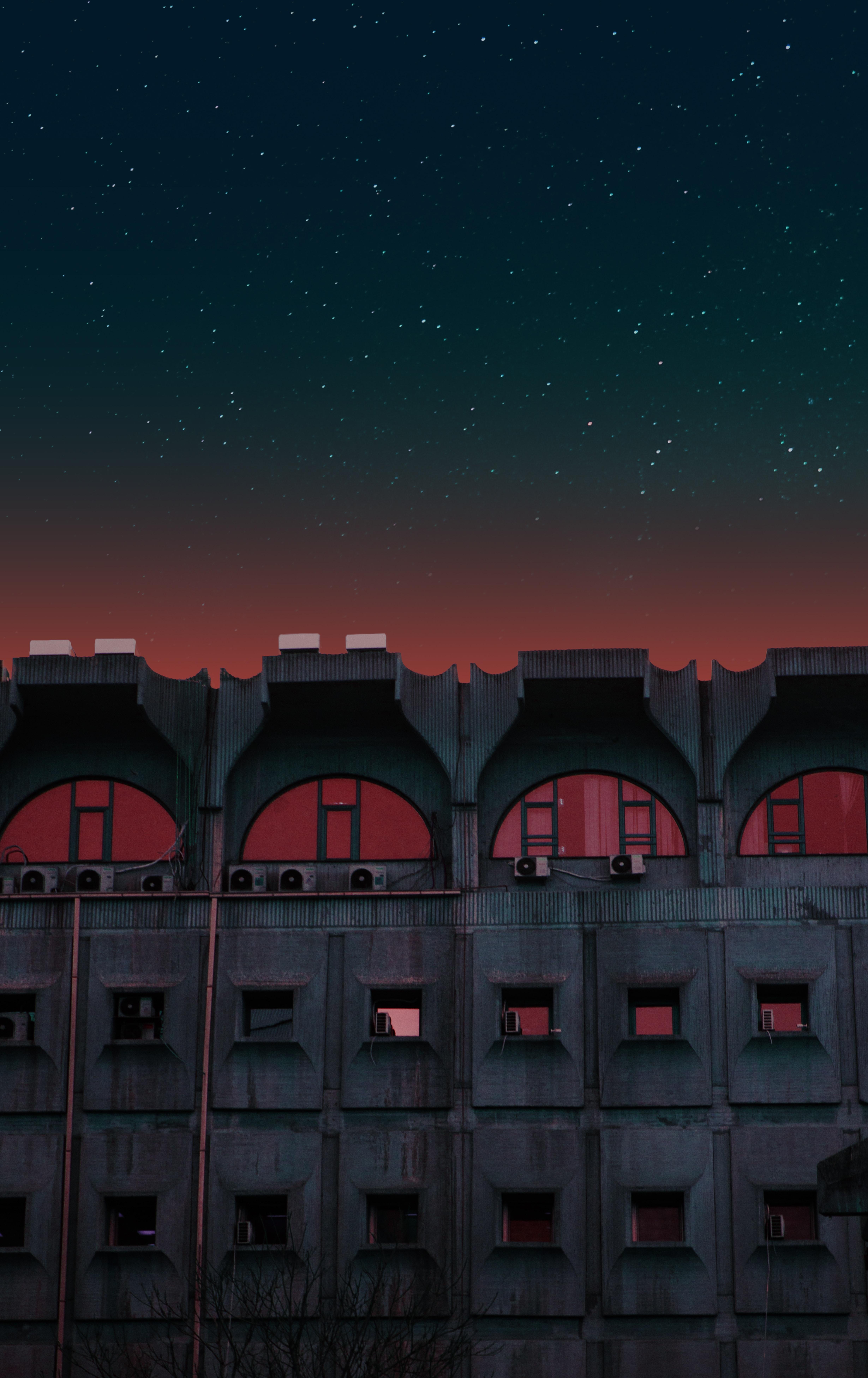 84991 скачать обои Разное, Здание, Фасад, Городской, Ночь, Архитектура - заставки и картинки бесплатно