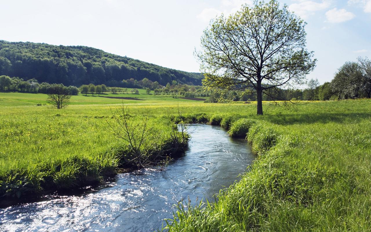 16120 скачать обои Пейзаж, Река - заставки и картинки бесплатно