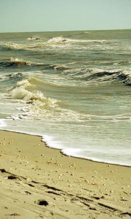 21955 скачать обои Пейзаж, Море, Волны, Пляж - заставки и картинки бесплатно