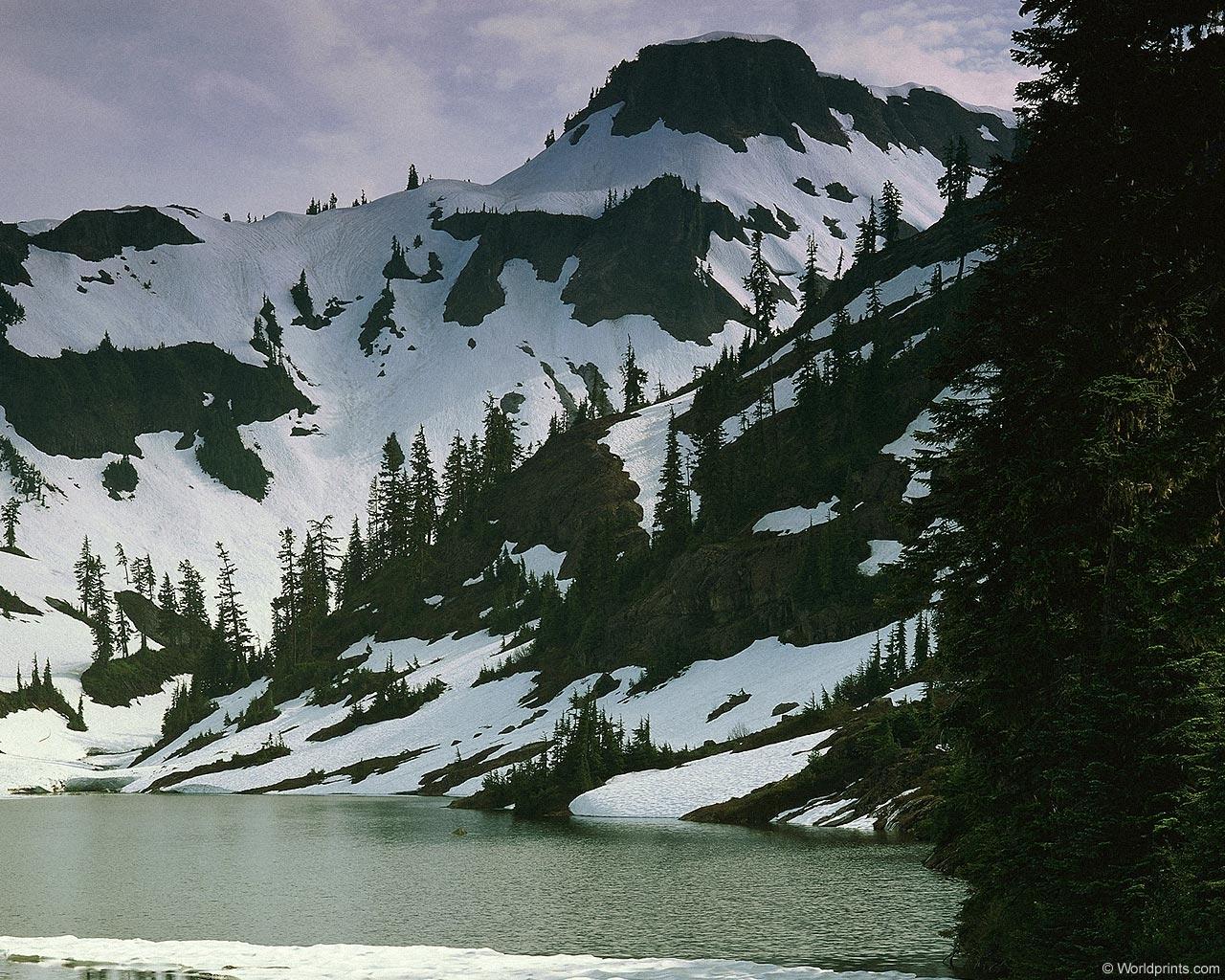 6684 скачать обои Пейзаж, Река, Горы - заставки и картинки бесплатно