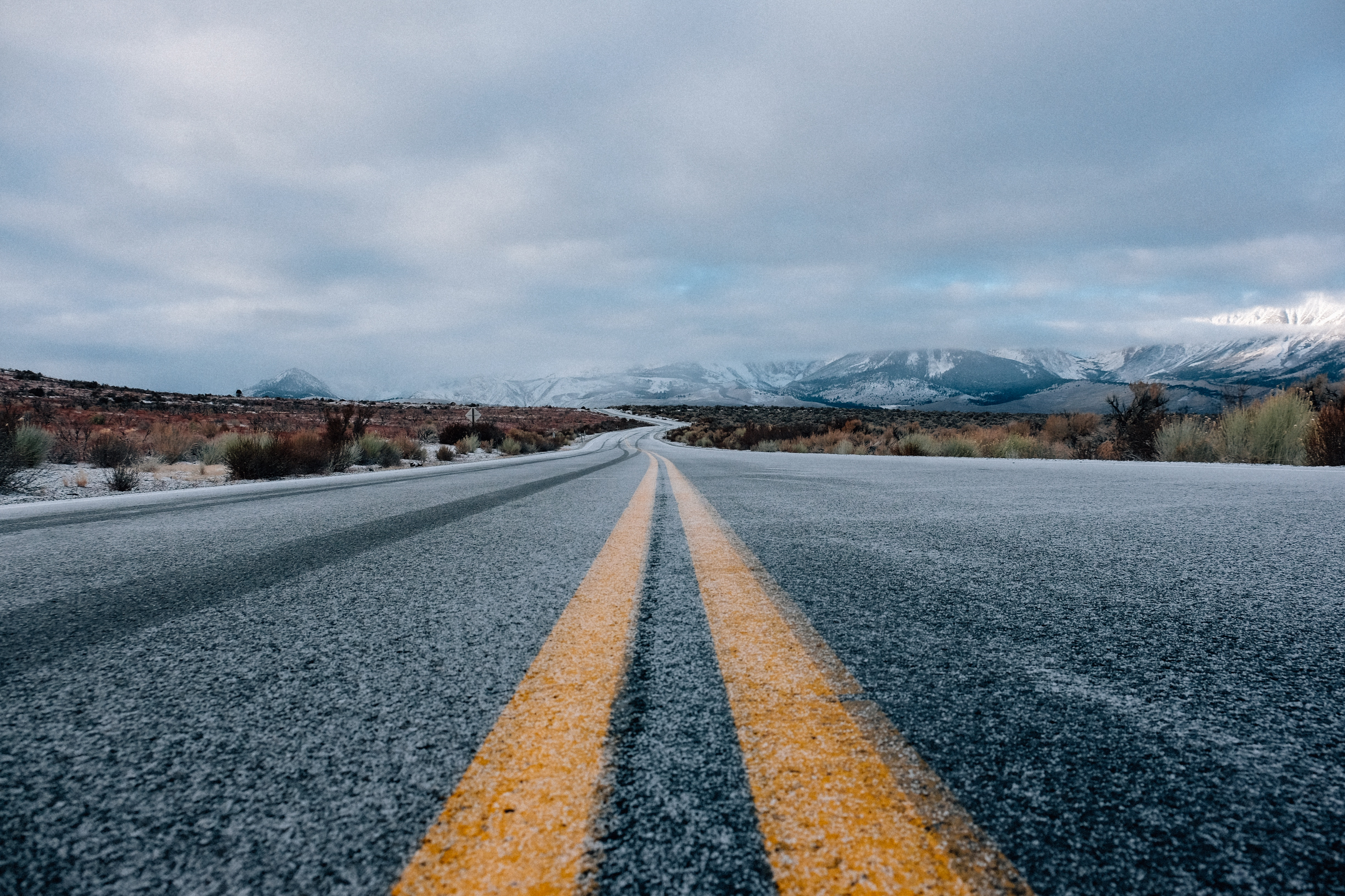 110330 Screensavers and Wallpapers Dahl for phone. Download Nature, Sky, Mountains, Road, Markup, Dahl, Distance pictures for free