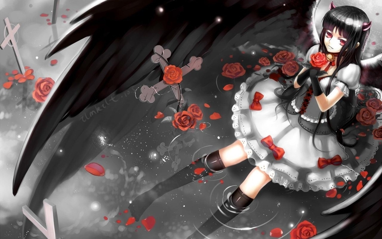 27154 Screensavers and Wallpapers Demons for phone. Download Anime, Girls, Demons pictures for free