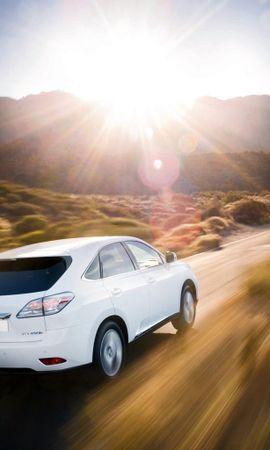 9631 скачать обои Транспорт, Машины, Солнце, Лексус (Lexus) - заставки и картинки бесплатно