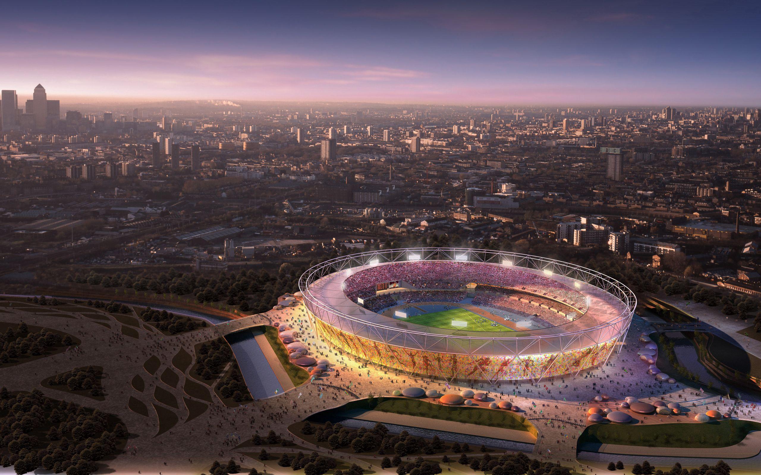 100607 Hintergrundbild herunterladen Sport, London, Olympia 2012, Olympische Spiele 2012, London 2012, Olympiastadion - Bildschirmschoner und Bilder kostenlos