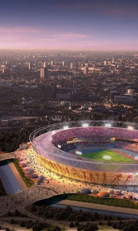 100607 descargar fondo de pantalla Deportes, Juegos Olímpicos De 2012, Londres, Londres 2012, Estadio Olimpico, Estadio Olímpico: protectores de pantalla e imágenes gratis