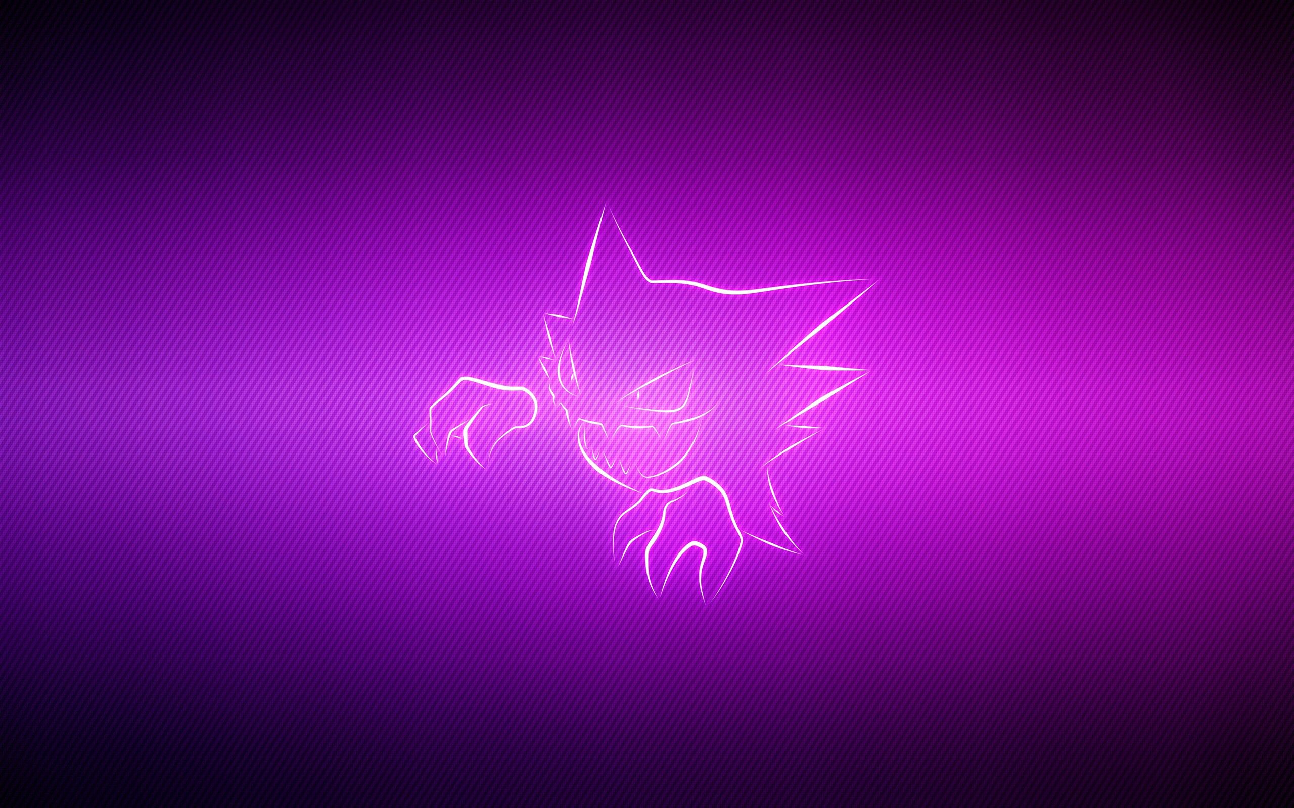 52158 Screensavers and Wallpapers Lilac for phone. Download Lilac, Vector, Grin, Pokemon, Pokémon, Haunter pictures for free