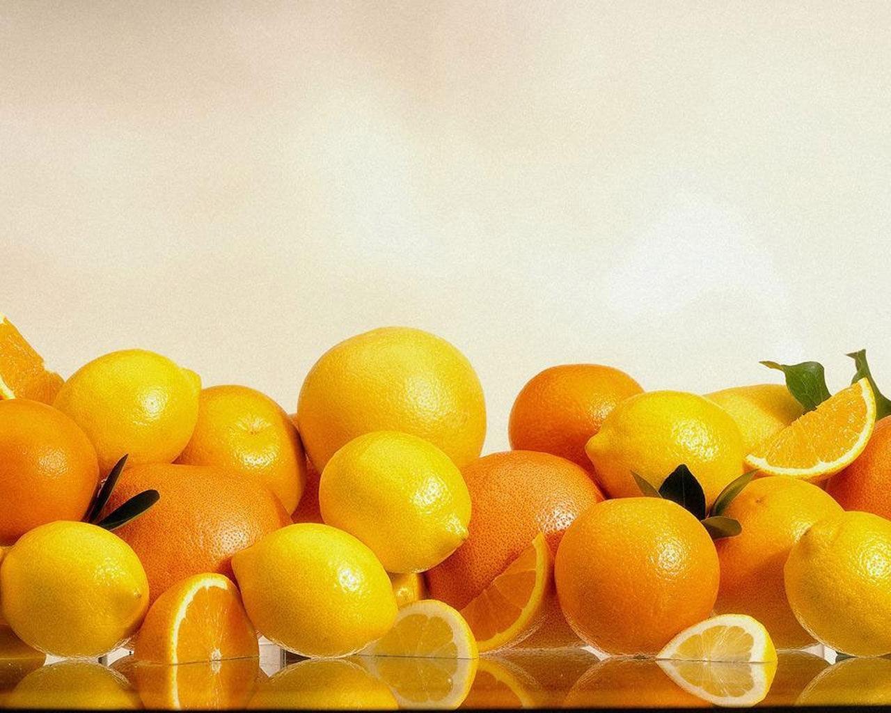 189 скачать обои Фрукты, Еда, Лимоны, Апельсины - заставки и картинки бесплатно