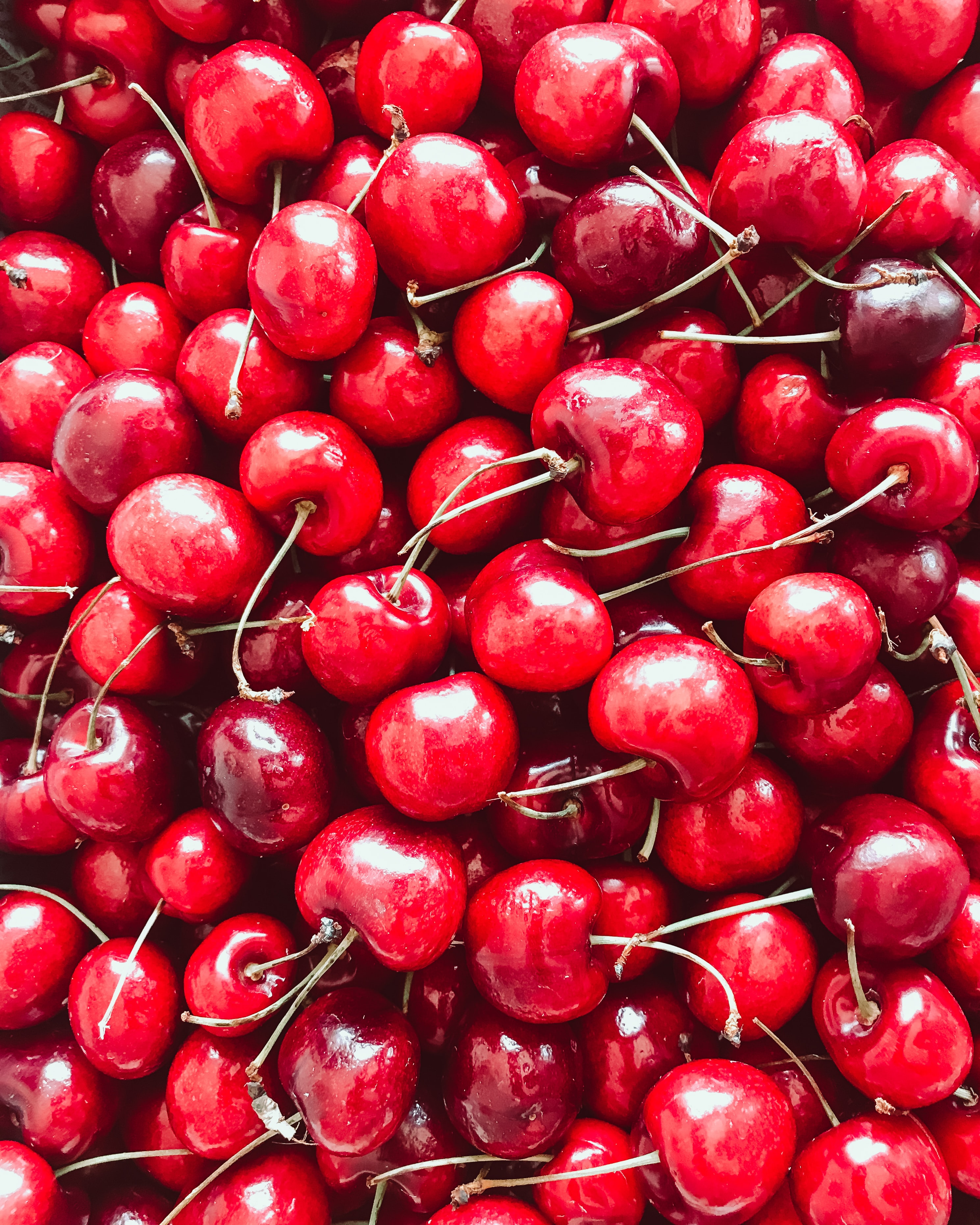 89999 download wallpaper Food, Berries, Ripe, Harvest, Cherries screensavers and pictures for free
