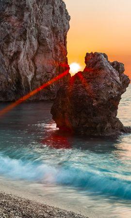 15252 скачать обои Пейзаж, Вода, Море, Солнце - заставки и картинки бесплатно