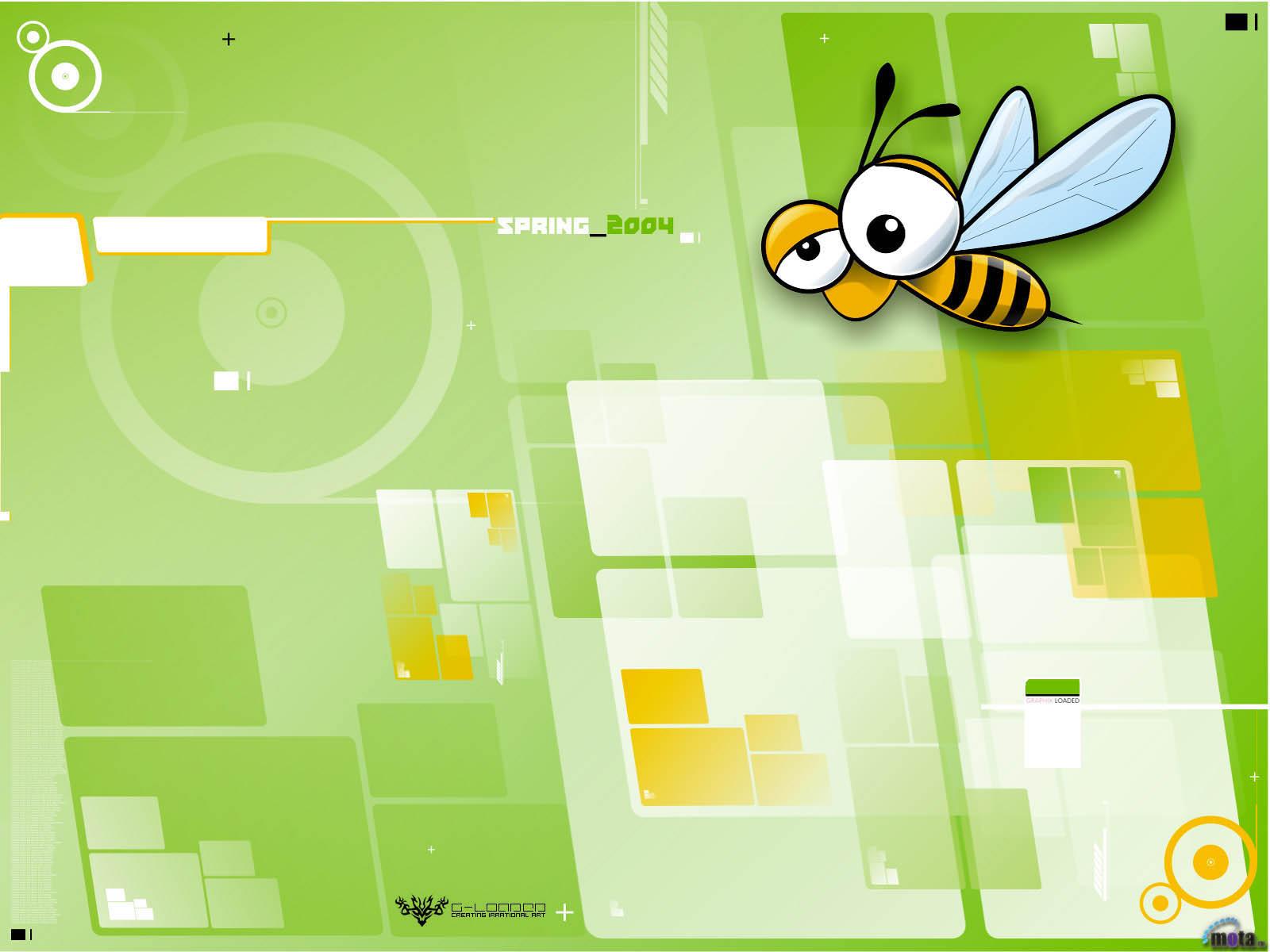 10079 Hintergrundbild herunterladen Humor, Insekten, Bienen, Bilder - Bildschirmschoner und Bilder kostenlos
