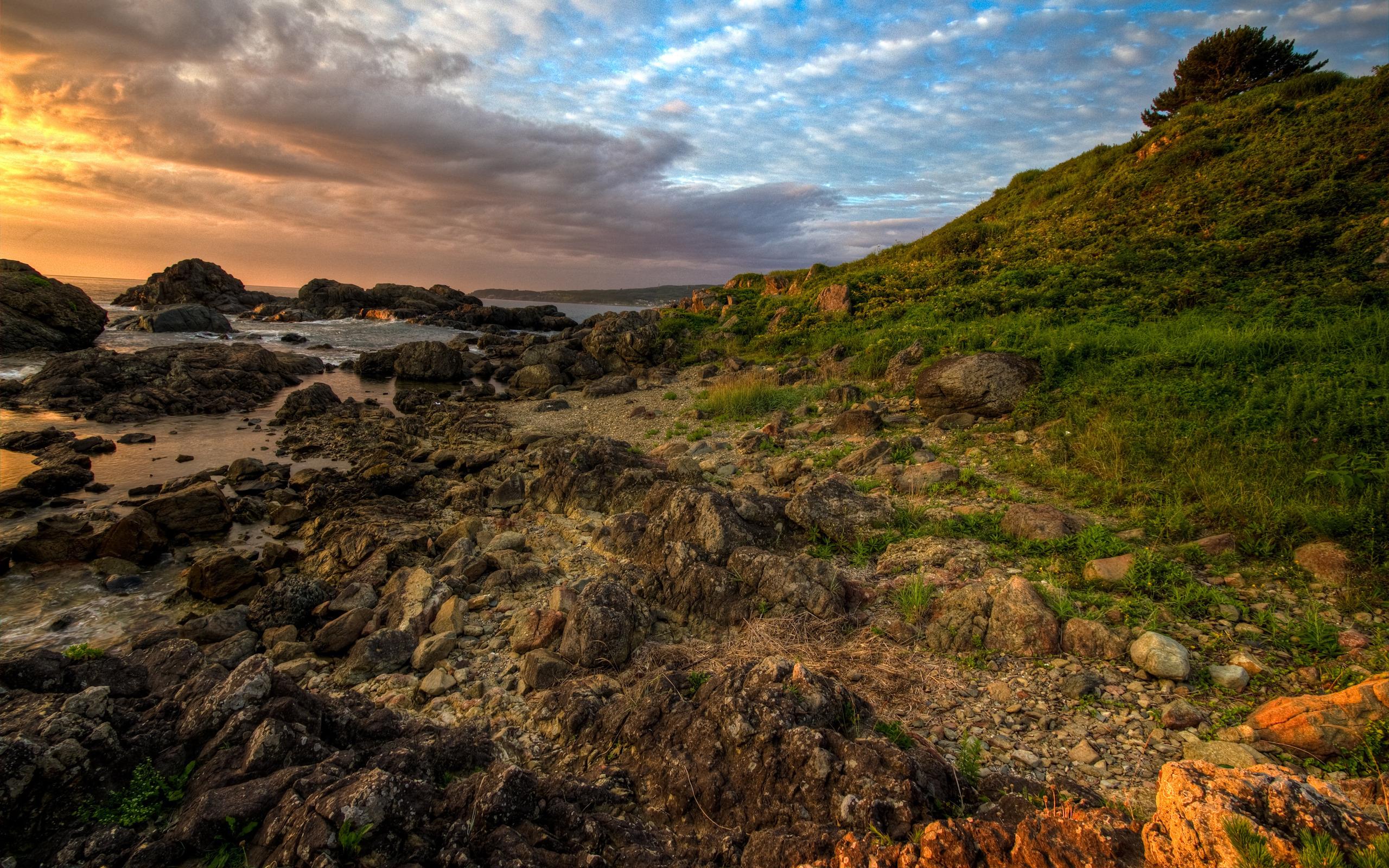 26405 免費下載壁紙 景观, 石, 海, 云 屏保和圖片
