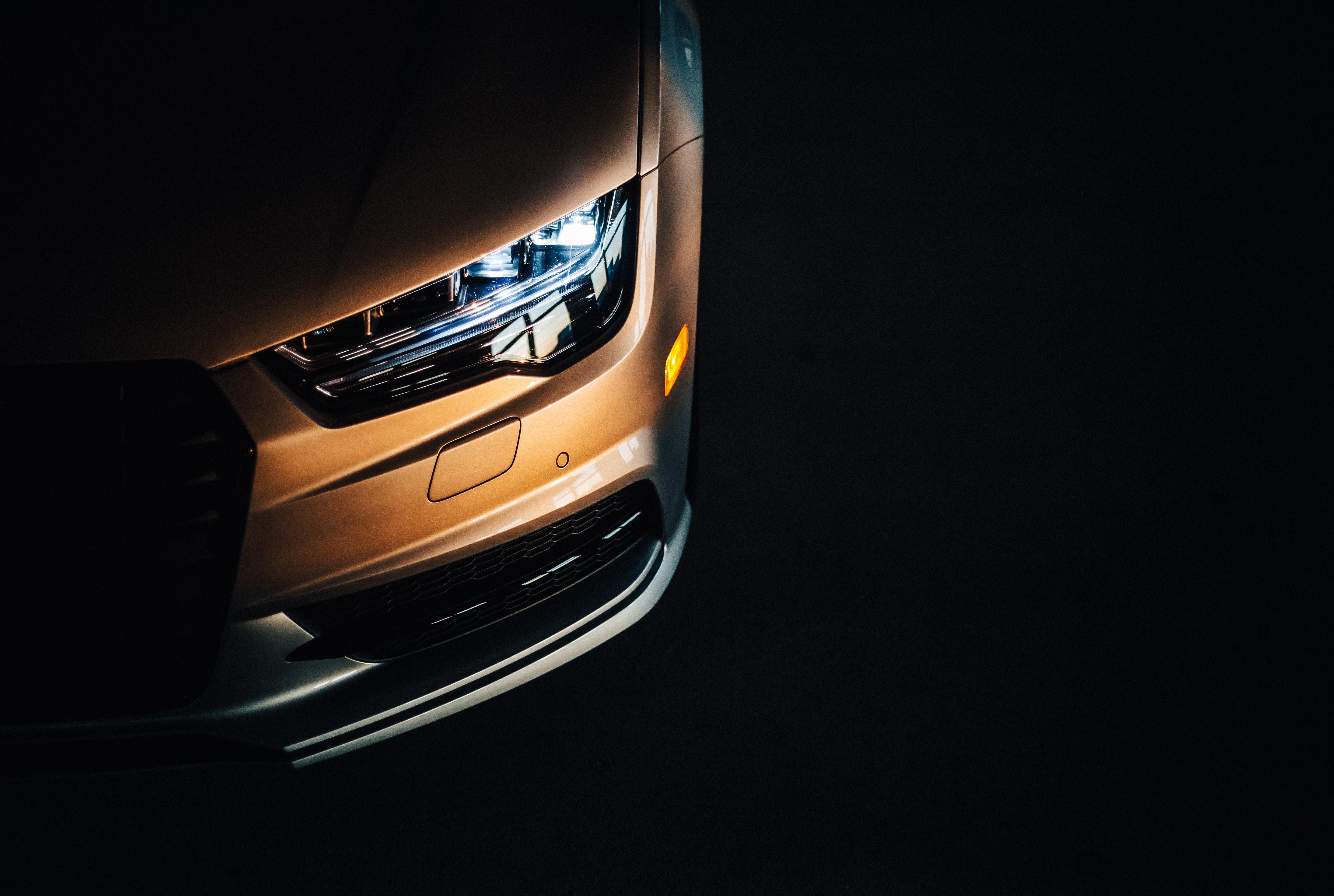 141731 descargar fondo de pantalla Coches, Audi S6, Audi, Faro, Oscuro: protectores de pantalla e imágenes gratis
