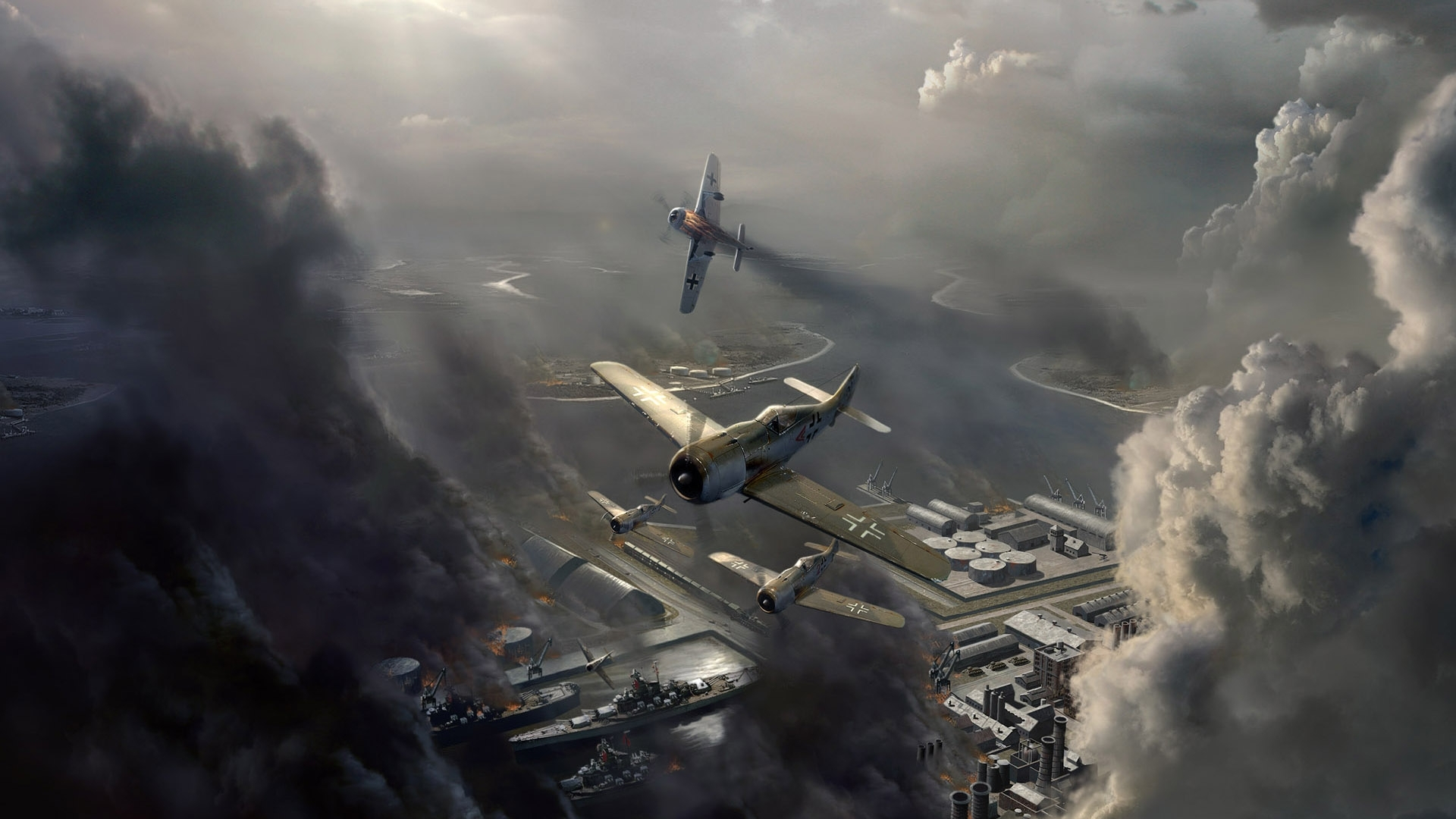 7453 скачать обои Самолеты, Игры - заставки и картинки бесплатно