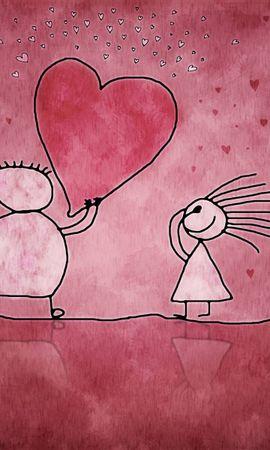 1519 descargar fondo de pantalla Vacaciones, Corazones, Amor, Día De San Valentín: protectores de pantalla e imágenes gratis