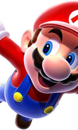 13062 скачать обои Мультфильмы, Игры, Марио (Mario) - заставки и картинки бесплатно