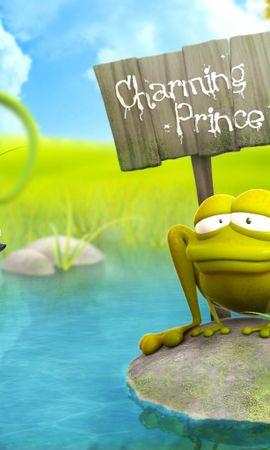 6124 baixar papel de parede Engraçado, Frogs - protetores de tela e imagens gratuitamente