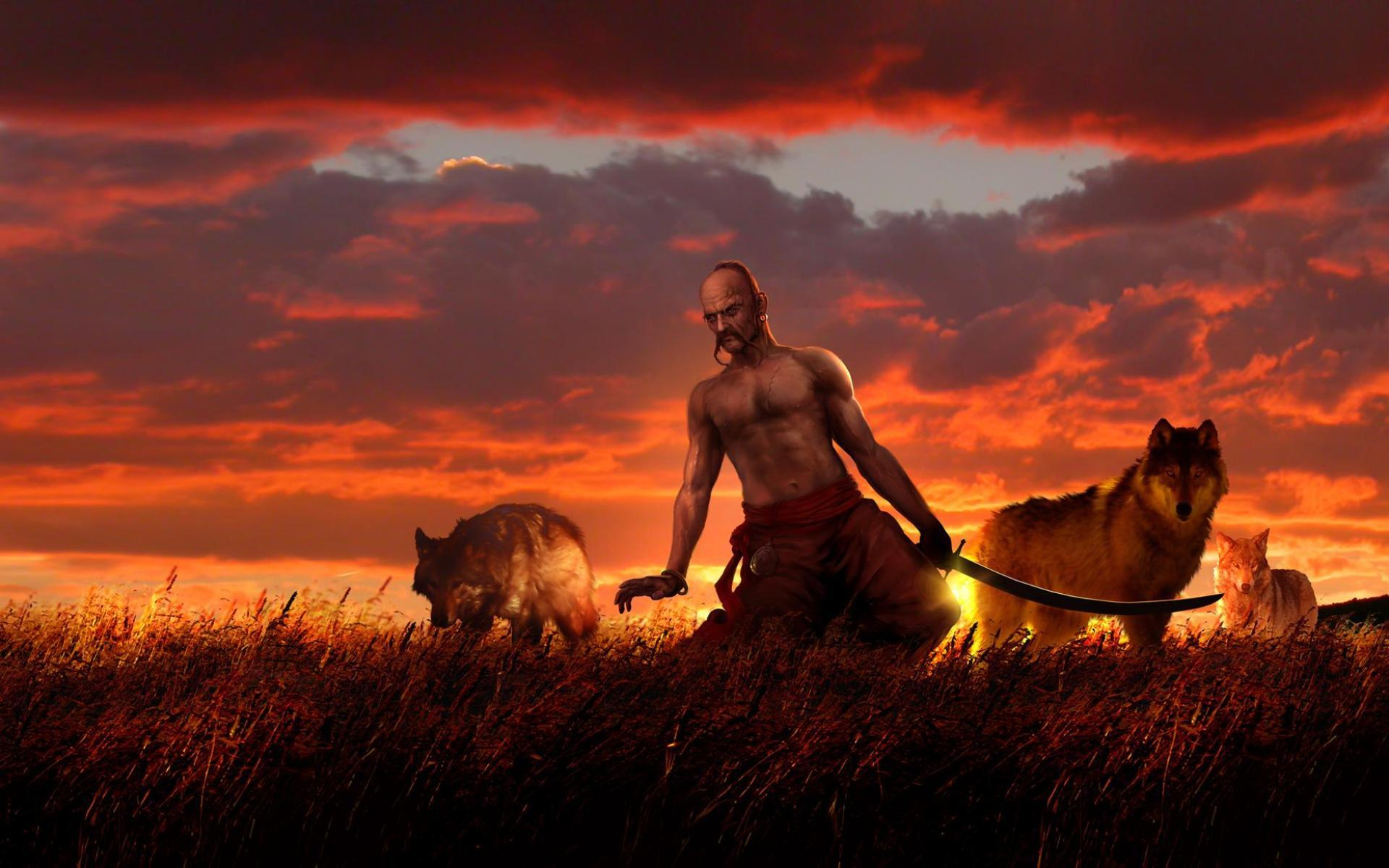 31857 download wallpaper People, Men, Cossacks screensavers and pictures for free