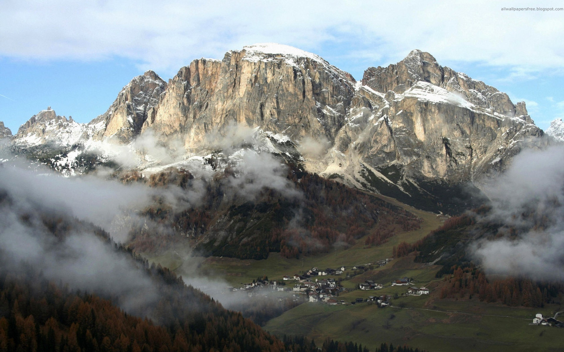 32004 download wallpaper Landscape, Mountains screensavers and pictures for free