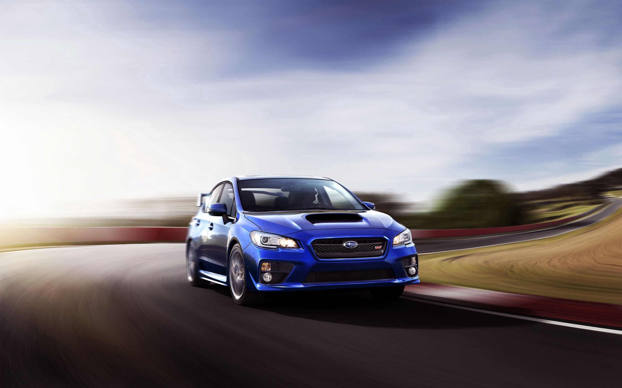 81688 download wallpaper Subaru, Cars, Traffic, Movement, Speed, Wrx, Sti screensavers and pictures for free