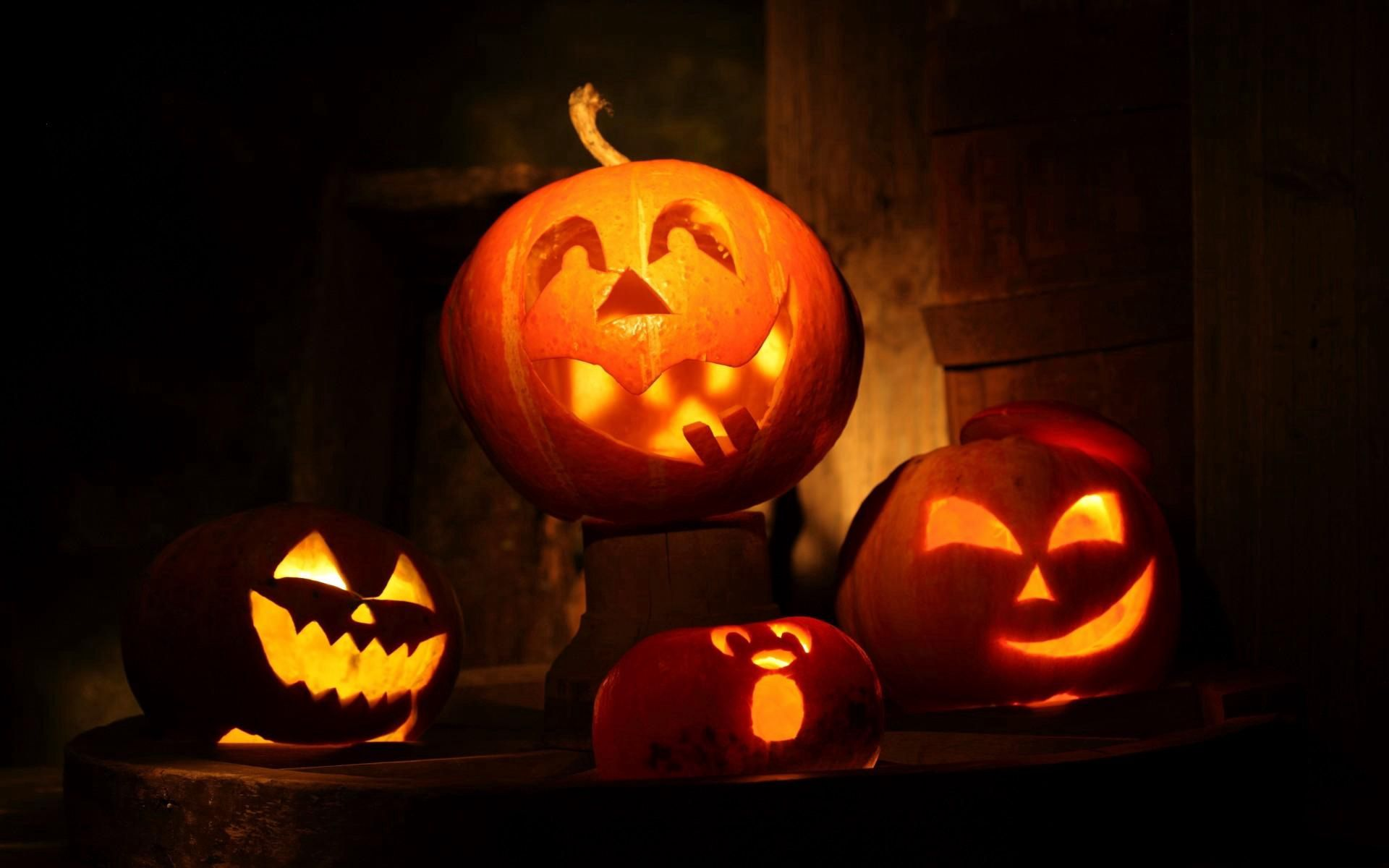 77539 download wallpaper Halloween, Pumpkin, Holidays, Night, Holiday, Fear screensavers and pictures for free