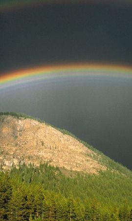 44508 télécharger le fond d'écran Paysage, Nature, Montagnes, Arc En Ciel - économiseurs d'écran et images gratuitement