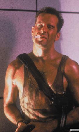 15393 скачать обои Кино, Люди, Актеры, Мужчины, Брюс Уиллис (Bruce Willis), Крепкий Орешек (Die Hard) - заставки и картинки бесплатно