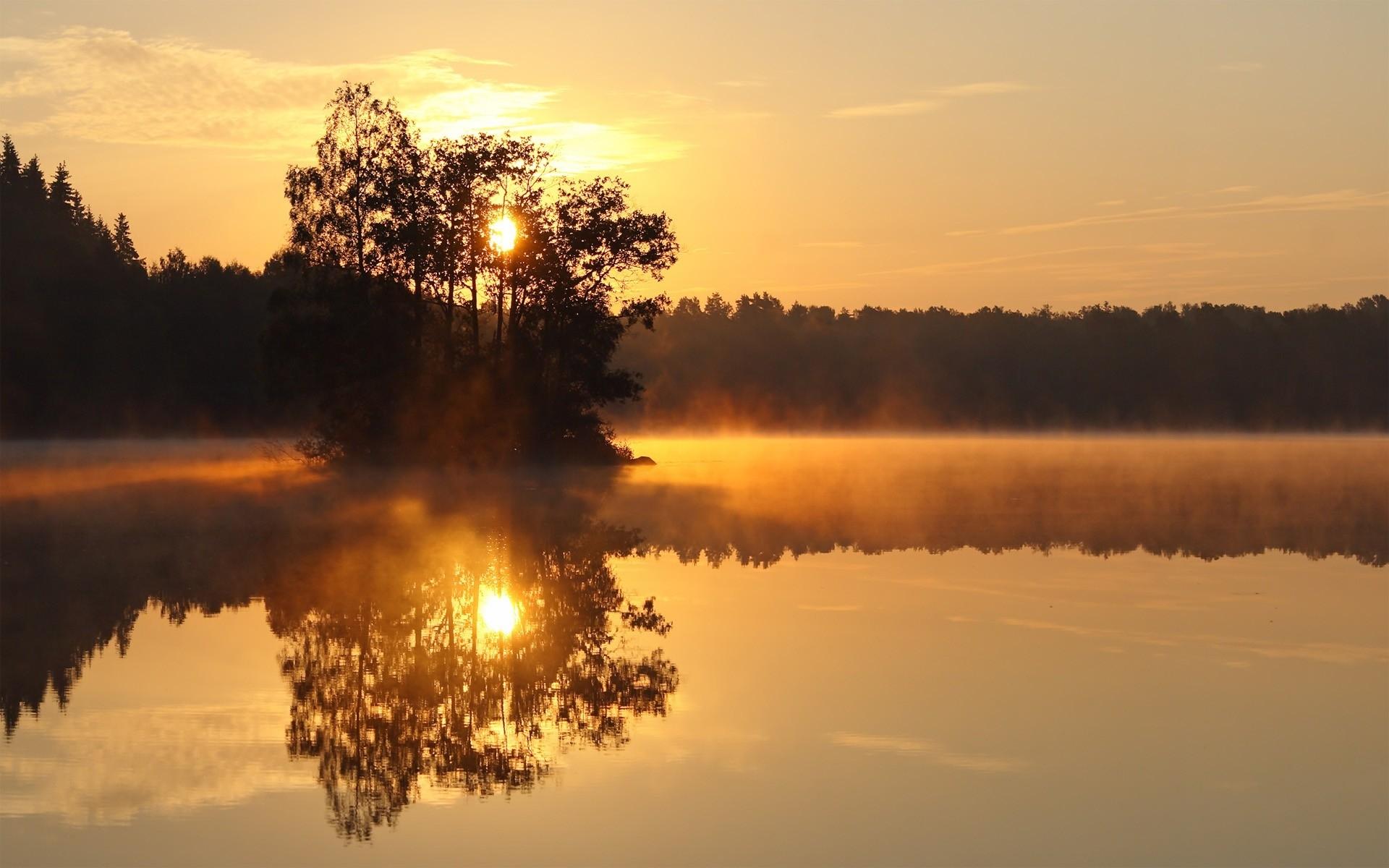 50337 Заставки и Обои Озера на телефон. Скачать Озера, Пейзаж, Природа, Закат картинки бесплатно