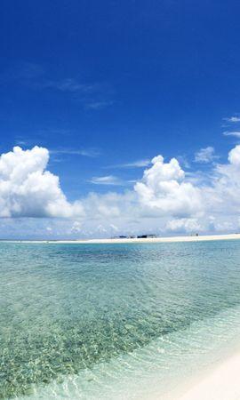28524 скачать обои Пейзаж, Море, Облака, Пляж - заставки и картинки бесплатно
