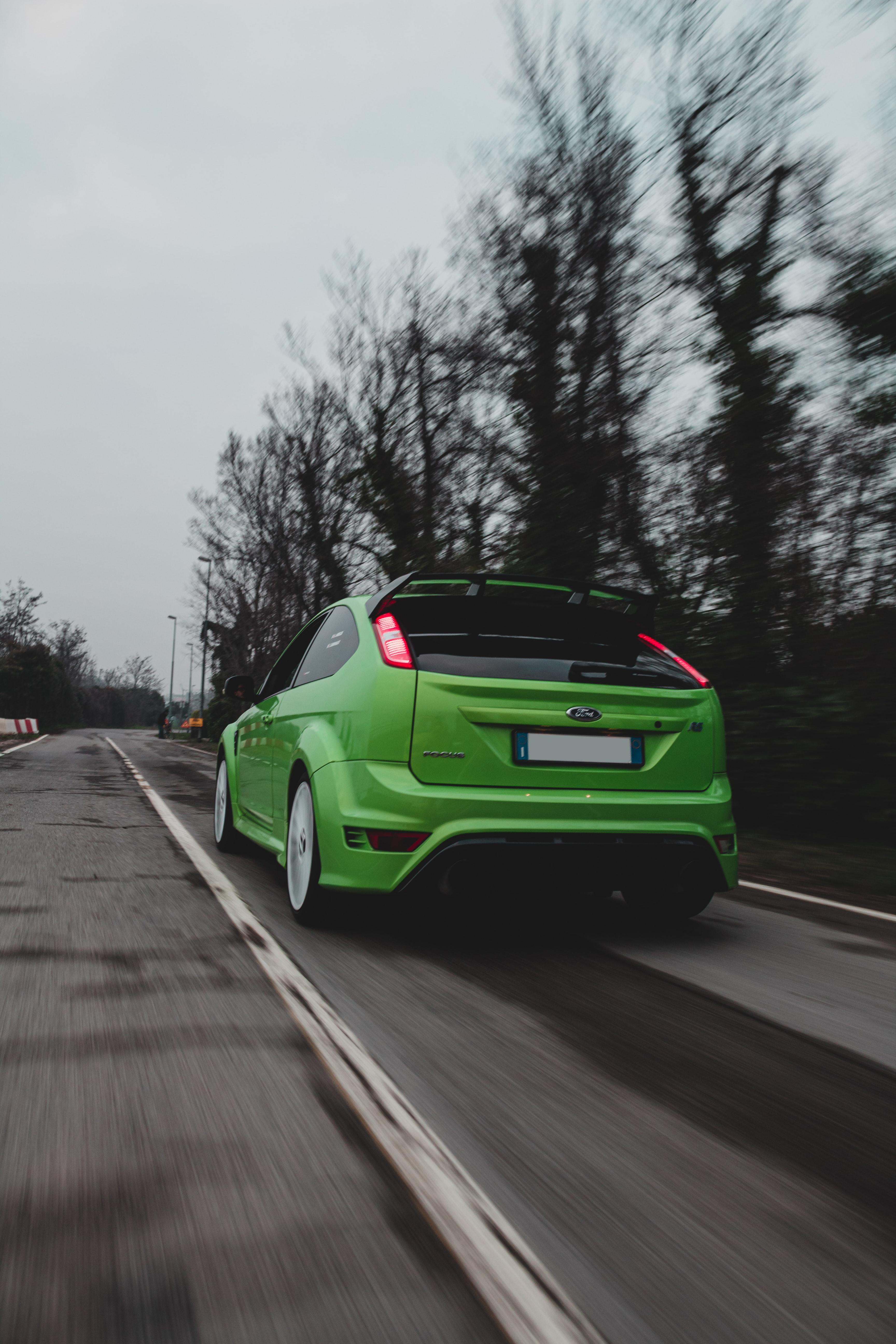 133394 Hintergrundbild herunterladen Ford, Auto, Cars, Straße, Wagen, Geschwindigkeit, Ford Focus - Bildschirmschoner und Bilder kostenlos