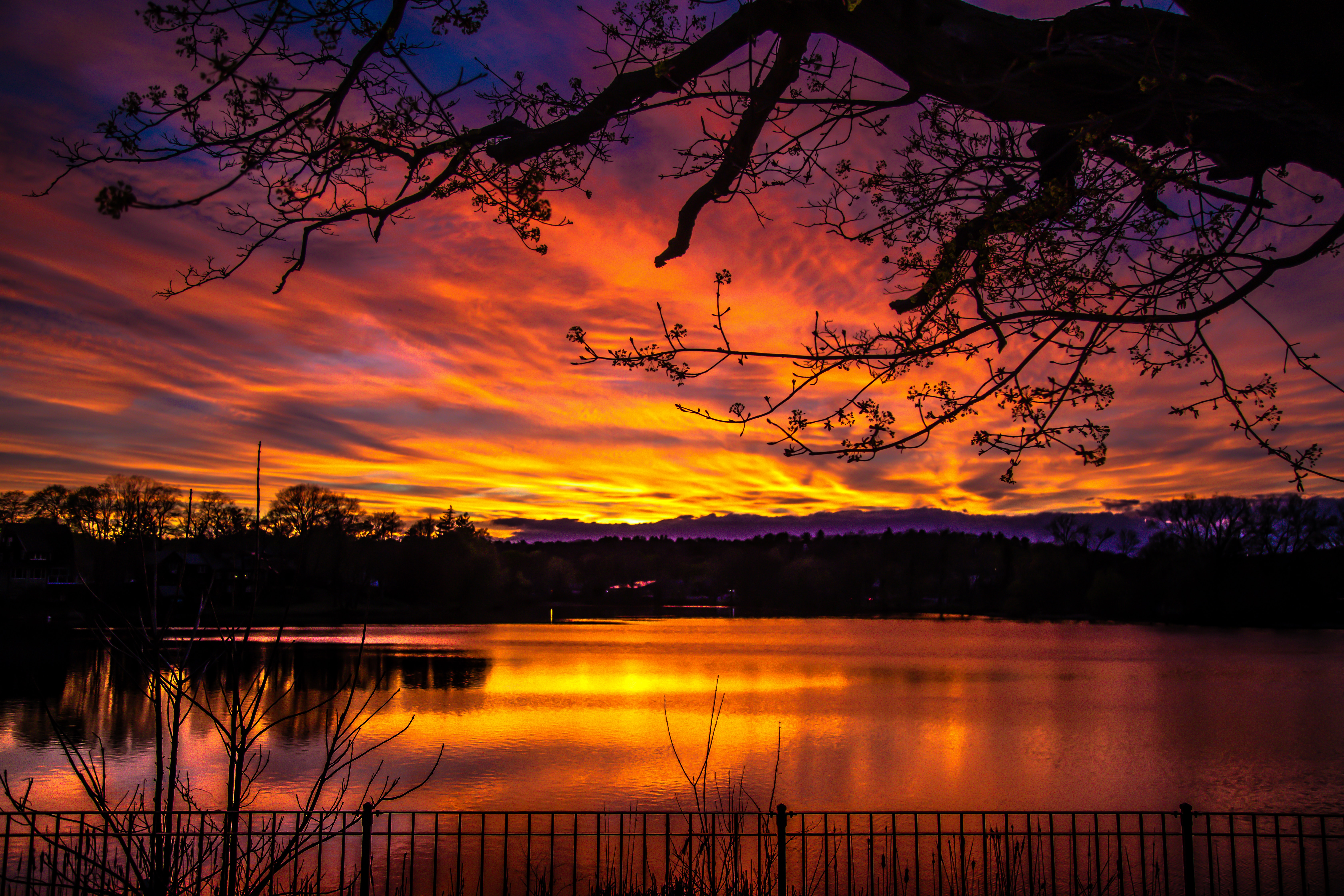 57630 Screensavers and Wallpapers Twilight for phone. Download Nature, Sunset, Twilight, Lake, Dark, Dusk pictures for free