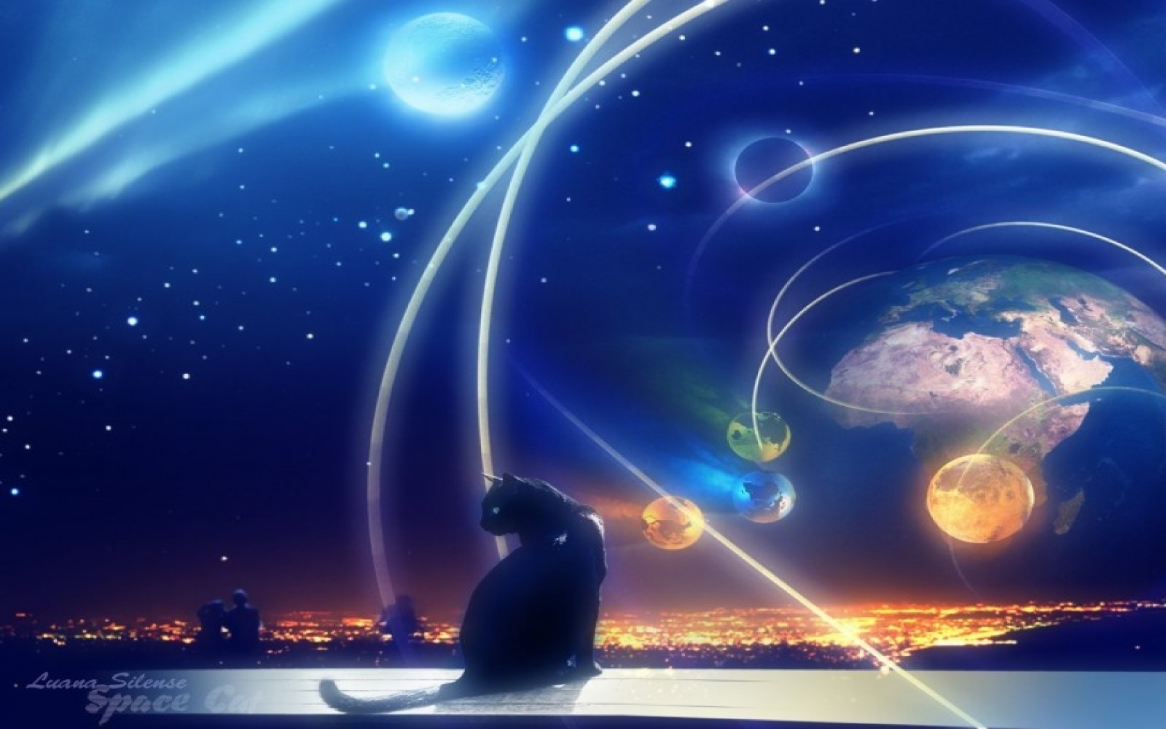 24920 download wallpaper Animals, Landscape, Cats, Planets, Universe, Pictures screensavers and pictures for free