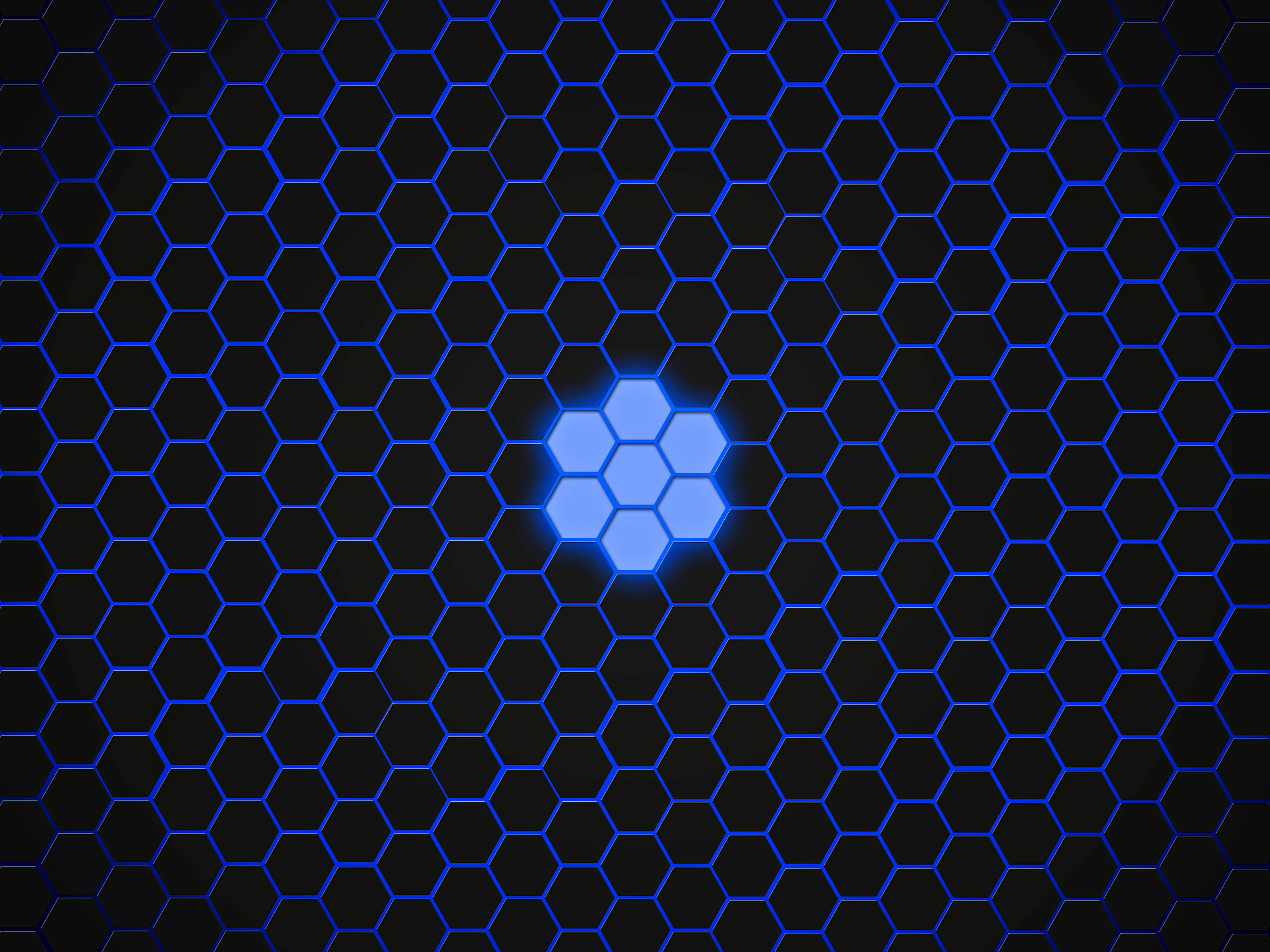 112745 download wallpaper Textures, Texture, Hexagons, Dark, Patterns screensavers and pictures for free