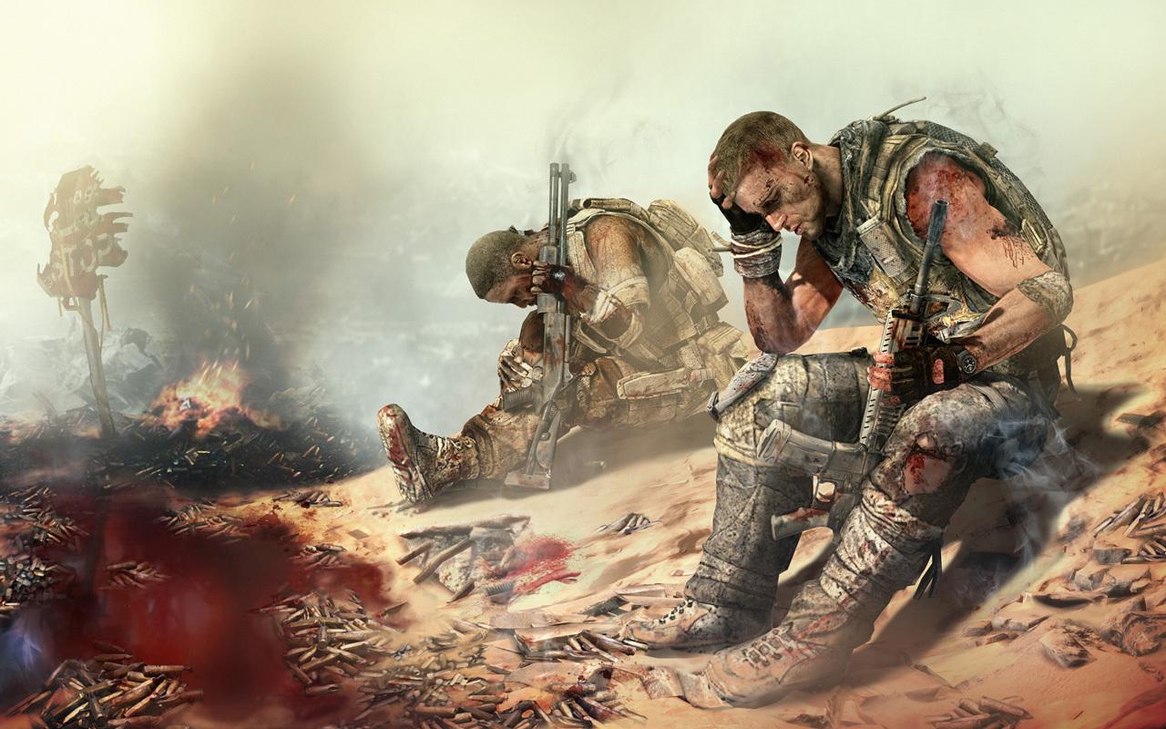 22325 Hintergrundbild herunterladen Spiele, Menschen, Männer, Bilder, Soldiers - Bildschirmschoner und Bilder kostenlos