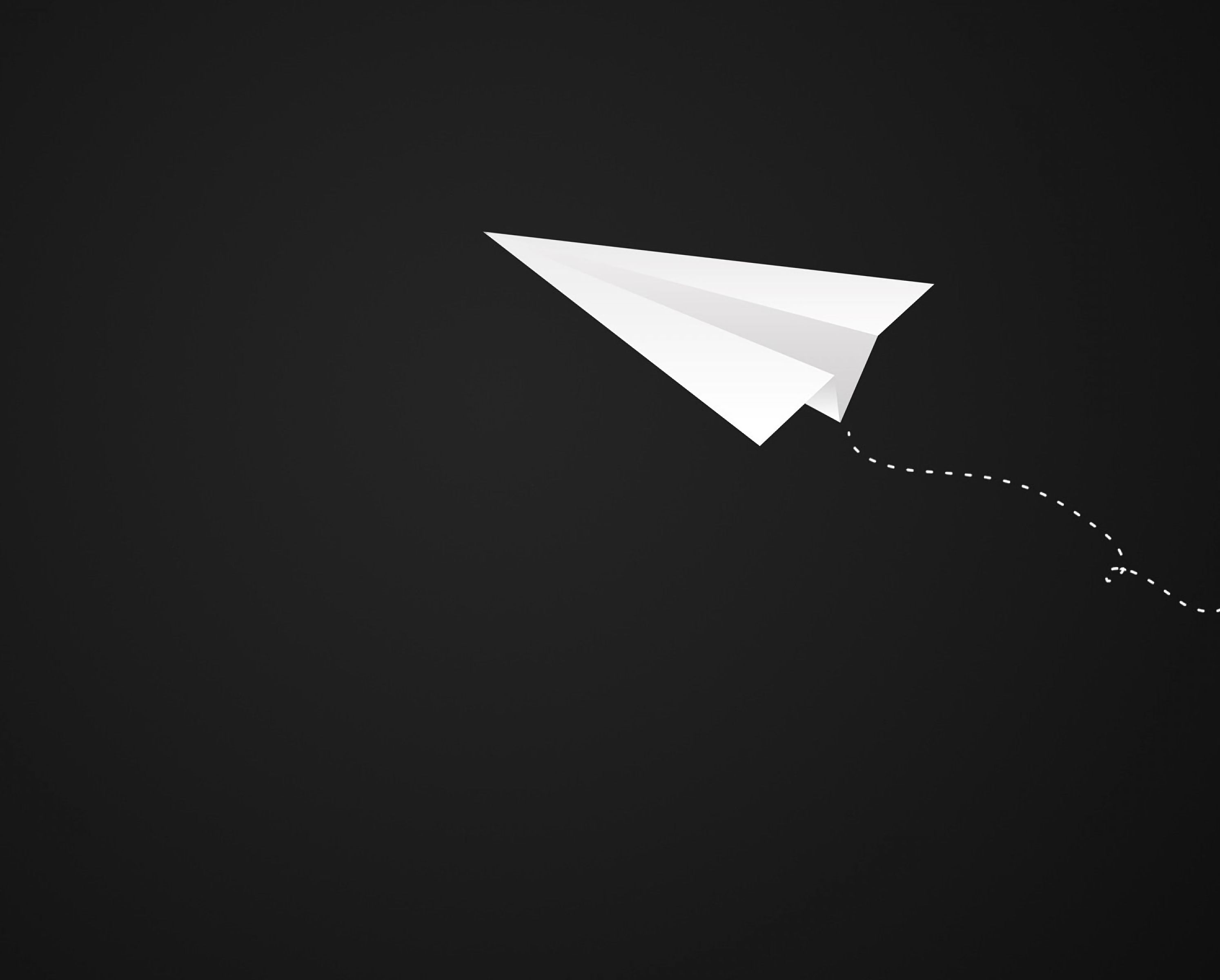 142738 download wallpaper Minimalism, Origami, Plane, Airplane, Art, Paper screensavers and pictures for free