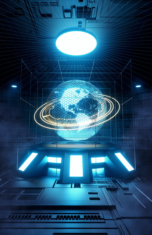 64570 Заставки и Обои Свечение на телефон. Скачать 3D, Неон, Свечение, Планета, Сфера, Модель картинки бесплатно