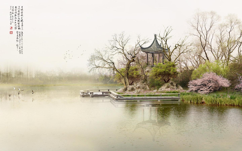 11219 скачать обои Пейзаж, Вода, Азия, Озера - заставки и картинки бесплатно