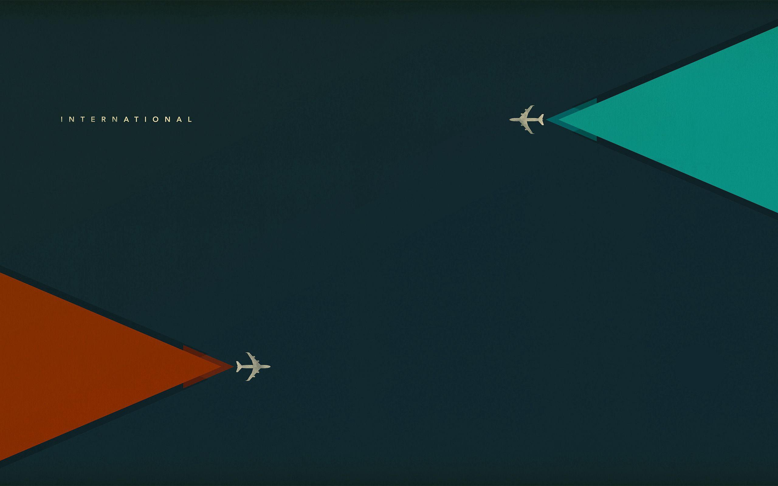 157820 Hintergrundbild herunterladen Flugzeuge, Vektor, Minimalismus, Flug, Flugzeug - Bildschirmschoner und Bilder kostenlos