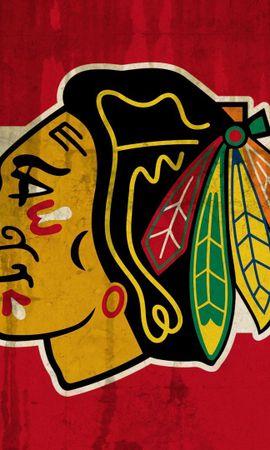 129391 descargar fondo de pantalla Deportes, Blackhawks, Halcones Negros, Blackhawks De Chicago, Halcones Negros De Chicago, Logo, Logotipo: protectores de pantalla e imágenes gratis