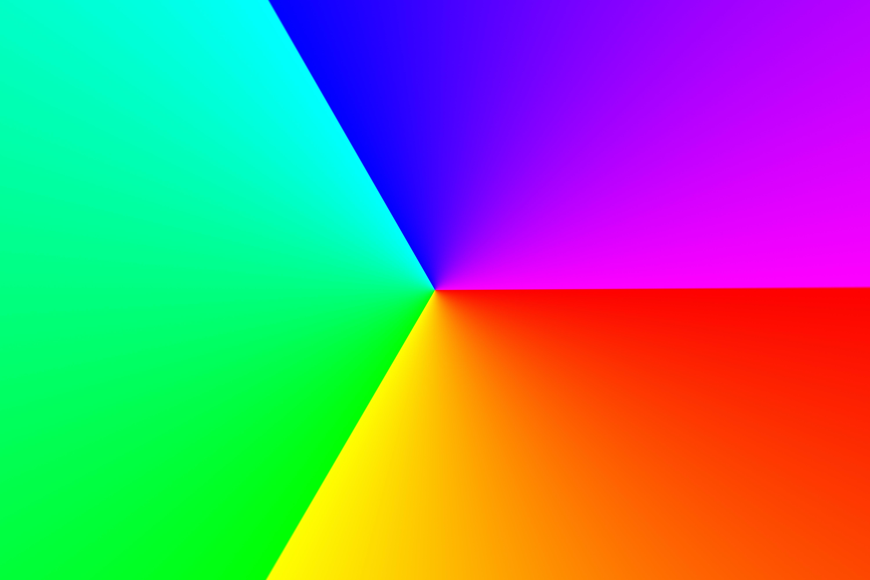 60602 descargar fondo de pantalla Abstracción, Rgb, Formas, Forma, Facetas, Cara, Degradado, Gradiente, Multicolor, Abigarrado: protectores de pantalla e imágenes gratis