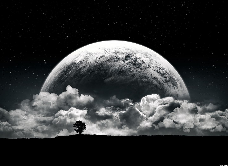 15151 скачать обои Пейзаж, Арт, Планеты, Облака - заставки и картинки бесплатно