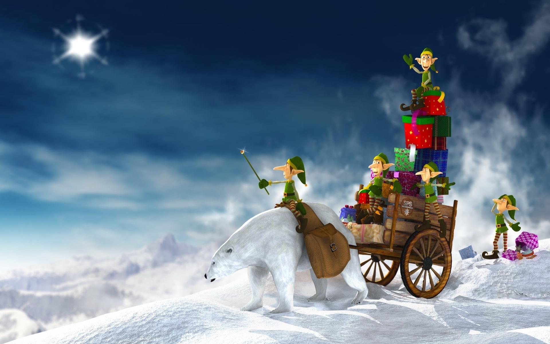 3712 descargar fondo de pantalla Vacaciones, Invierno, Año Nuevo, Navidad: protectores de pantalla e imágenes gratis