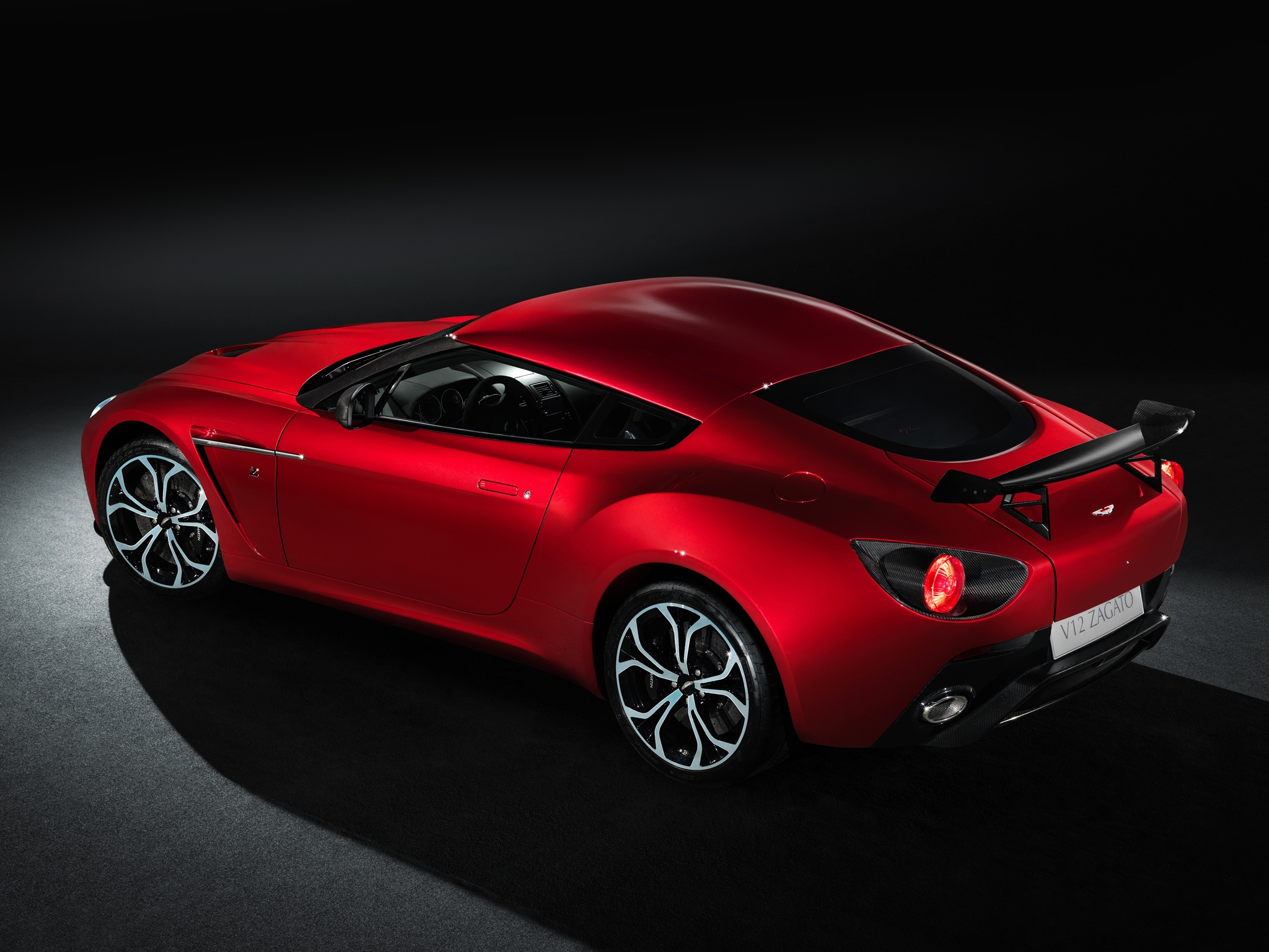96939 download wallpaper Auto, Aston Martin, Cars, Side View, Style, 2012, V12, Zagato screensavers and pictures for free