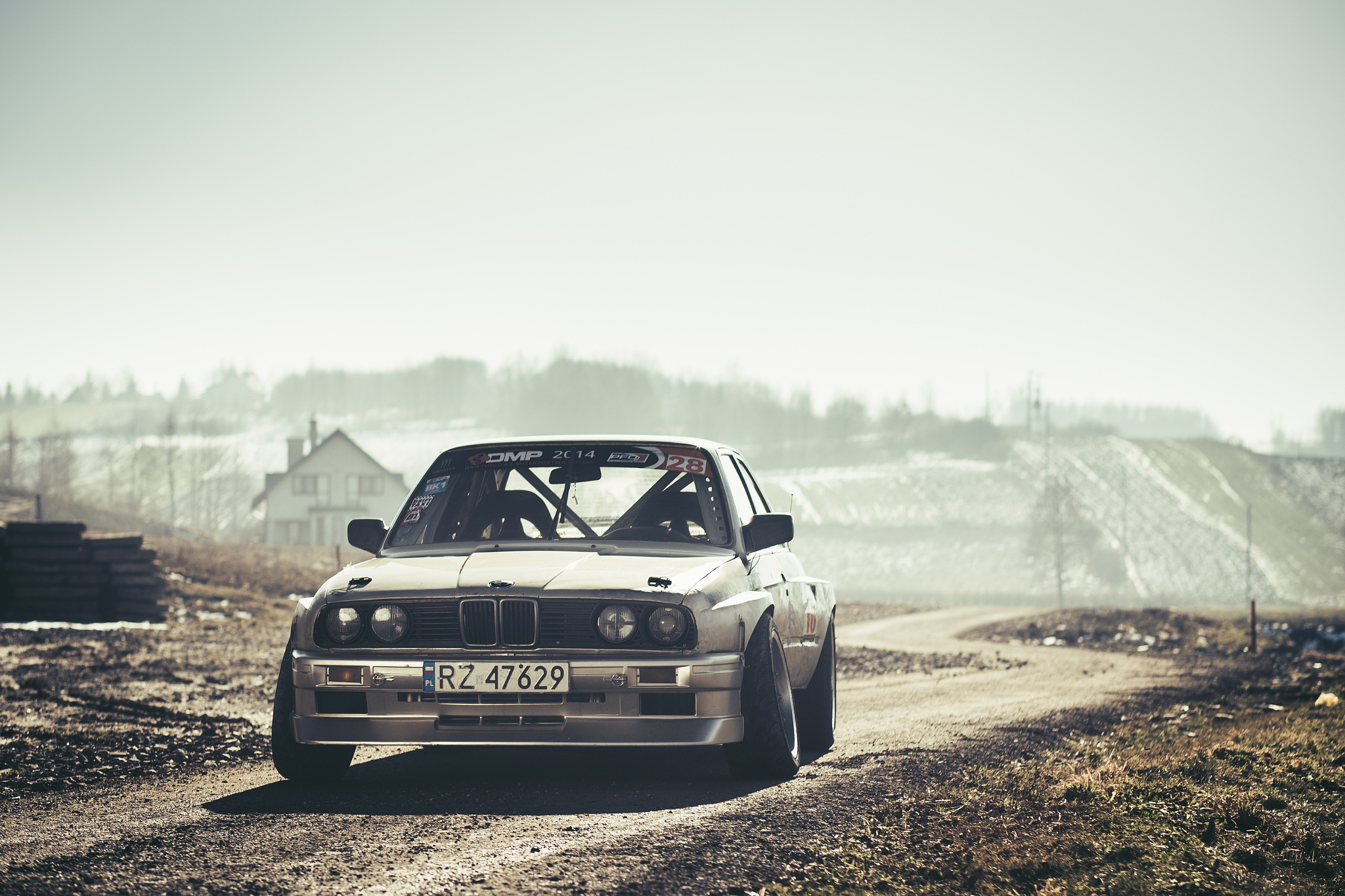 116019 Screensavers and Wallpapers Front View for phone. Download Bmw, Cars, Front View, Drift, E30 pictures for free